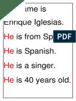 His Name is Julio Iglesias