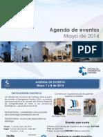 Agenda de Eventos Mayo 2014