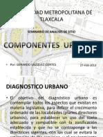 componentes urbanos