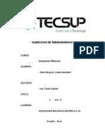 Ejercicios de Termodinámica Magno