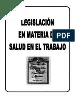 Legislación de Salud Ocupacional