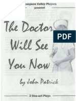 The Doctor Will See You Now 2003