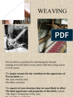 Some revision of Weaving