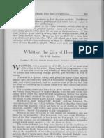 City Profile Whittier California 1924 by J.W. Balson President Whittier District  Realty Board Whittier California