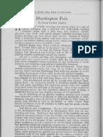 City Profile Huntington Park California 1924 by Oscar Hilton Realtor