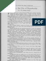 City Profile Fresno California 1924 by C.H. Antrim Realtor