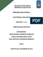Practica 1 - Transistor - Juan Antonio, Paul, Juan Alejandro