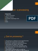 Introduccion a Processing