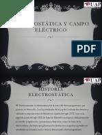 Electrostática y Campo Eléctrico