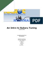 An Intro to Subaru Tuning