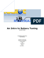 An Intro to Subaru Tuning