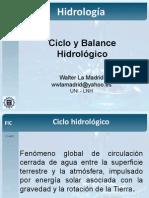 2 - Ciclo y Balance Hidrológico