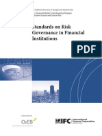 IFC's Standards on Risk Governance Structure in FIs
