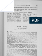 County Profile Marin County California 1924 by D.D. Bowman President Marin County Real Estate Board