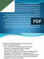 uso del PVC