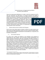Sistema Electoral Peruano Soldevilla