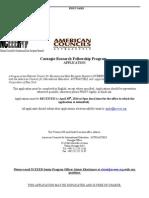 Carnegie Application 2014