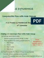 Cme-535- Chap 4 Gas Dynamics
