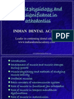 Muscle Physiology / orthodontic courses by Indian dental academy