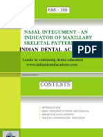 Nasal Morphology / orthodontic courses by Indian dental academy