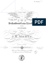 Mertz 6 Schubert Lieder