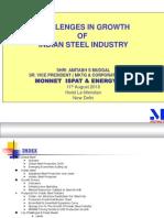 Steel industries problem by Amitab_Mudgal