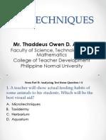 Biotechniques Participant Copy