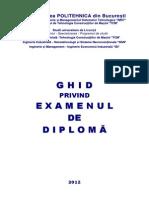 Ghid Examen Diploma 2012