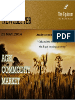Daily Agri News Letter 21 May 2014