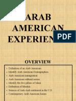 Arab American Experience