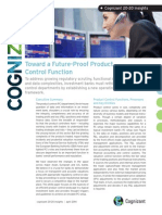 Toward a Future-Proof Product Control Function