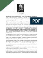 BiografíaPierre Bouguer