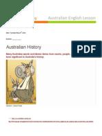 australian english worksheet may 2014