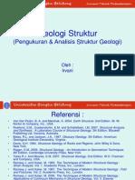 P10 GEOLOGI STRUKTUR Pengukuran & Analisis Struk. Geologi
