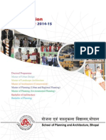SPA BHopal Information Brochure