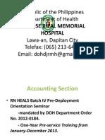 RN HEALS-DOH