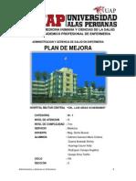 Plan de Mejora Hospital Militar Central