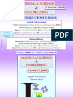 Materials Science & Engineering Introductory