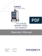 Mini MP 5200 Gas Analyzer Operator Manual