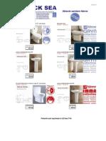 Obiecte sanitare portelan
