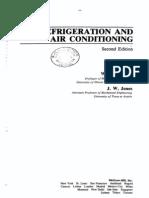 Refrigeration and Air Conditioning. W. F. Stoecker, J. W. Jones