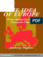 Anthony Pagden the Idea of Europe (2002)