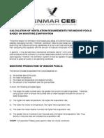 Ventilation Calculation Indoor Pools