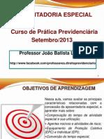 AULA Aposentadoria Especial - Prof. João B Lazzari