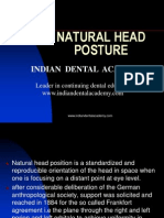 Natural Head Posture / orthodontic courses by Indian dental academy