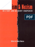 Rousso, Stalinism and Nazism Compared