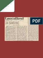 AL. CISTELECAN - PATRIA SINGELUI