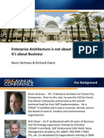 Enterprise Architecture is Not About Software, It is About Business