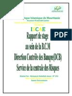 Rapport de Stage Med Abdellahi Amar Au Sein de La BCM (3)