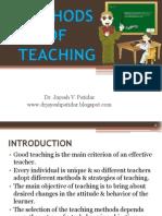 Methods of Teaching